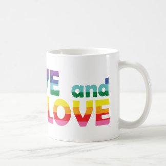 DE Live Let Love Coffee Mug