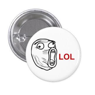 De LOL de la risa cara ruidosa Meme de la rabia ha Pin