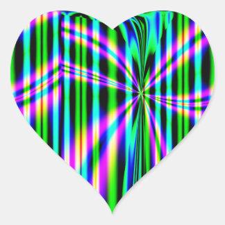De-Looped Heart Sticker