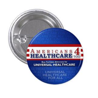 De los americanos 4 de la atención sanitaria botón pins