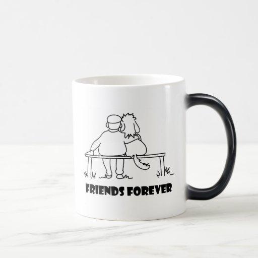 De los amigos regalos adaptables para siempre tazas de café