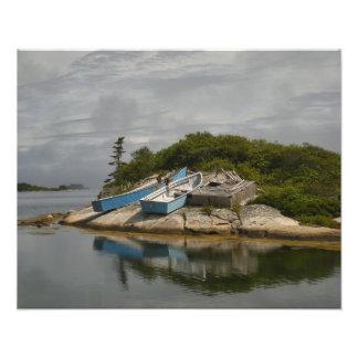 De los barcos ensenada Nueva Escocia de Peggys en Fotografía