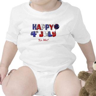 De los bebés 4to primero del día de julio trajes de bebé