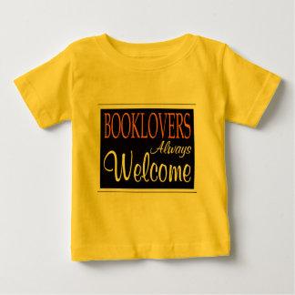 De los Booklovers signo positivo siempre Playera De Bebé