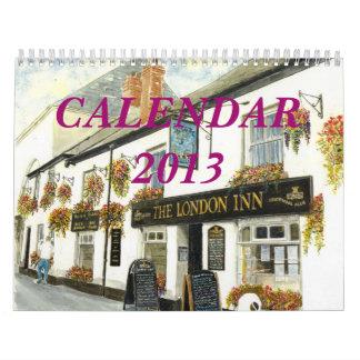"""De los """"calendario de Cornualles Pubs y de los Calendarios De Pared"""
