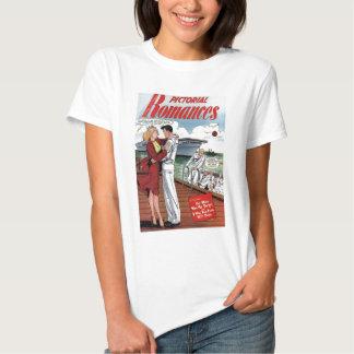 """De los """"camiseta romances #6 ilustrado"""" playera"""