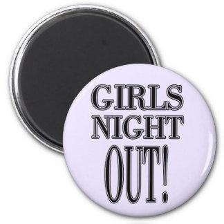 De los chicas de la noche camisetas y regalos haci imán para frigorifico