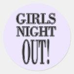 De los chicas de la noche camisetas y regalos haci pegatinas