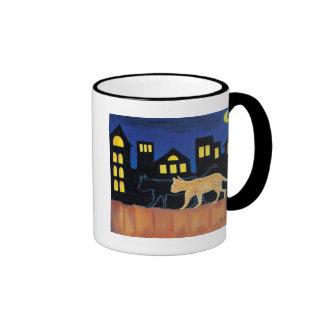 """""""De los chicas de la noche taza de café hacia"""