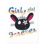 De los chicas niños femeninos para siempre postal