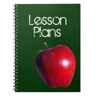 """De los """"cuaderno planes de la lección"""" del profeso notebook"""