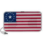 De los E.E.U.U. bandera de la guerra pre iPod Altavoces