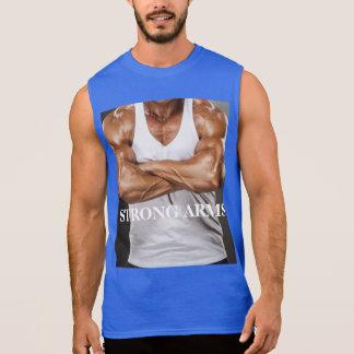 De los hombres camiseta sin mangas del algodón