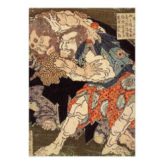 De los invitación luchadores del sumo de Katsush