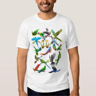 De los loros camiseta a montones remeras