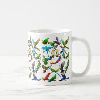 De los loros taza a montones