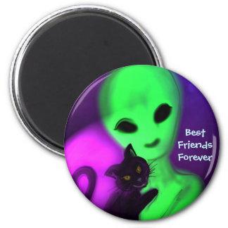 De los mejores amigos imán para siempre