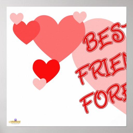 De los mejores amigos parte roja 1 de los corazone póster