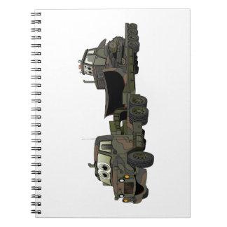 De los militares dibujo animado del plano de la ni libro de apuntes