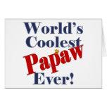De los mundos del Papaw el regalo más fresco nunca Tarjetas