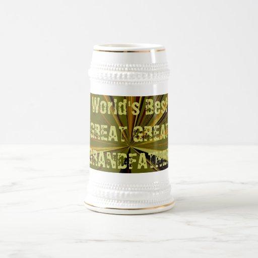 De los mundos gran grande mejor - cerveza de abuel tazas