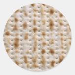 ~ de los pegatinas del Matzoh del Passover ácimo y Etiquetas Redondas