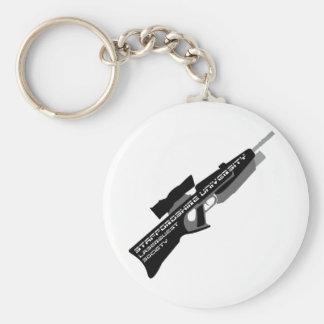 De los personales sociedad de Laserquest Uni - Llavero Redondo Tipo Pin