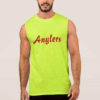 De los pescadores de los hombres camiseta sin