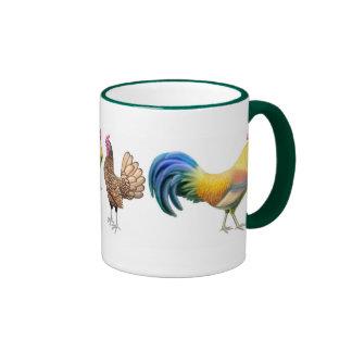 De los pollos taza a montones