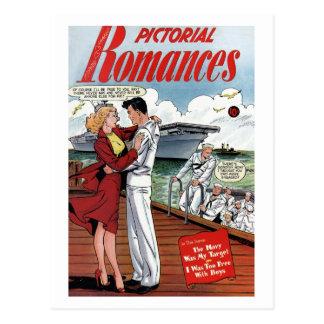 De los postal romances 6 ilustrado