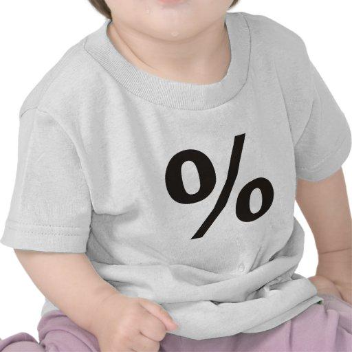 ¡% de los productos y diseños del por ciento! camiseta