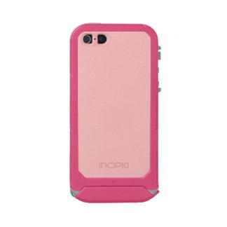 ~ de los ROSAS BEBÉS (color sólido) Carcasa De Iphone 5 Incipio Atlas Id