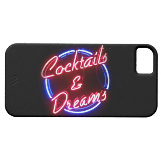 De los sueños de la señal de neón caso del iPhone  iPhone 5 Case-Mate Carcasas