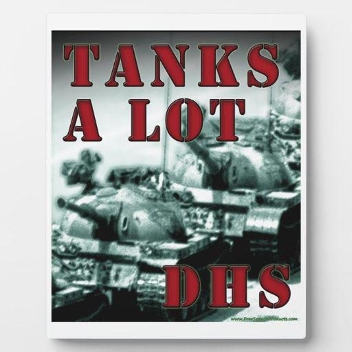De los tanques ADO mucho Placas Para Mostrar