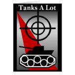 De los tanques tarjeta mucho
