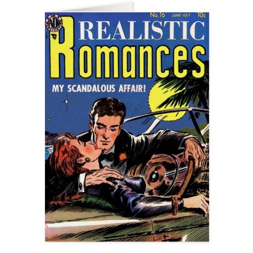 """De los """"tarjeta romances #16 realista"""" tarjeta de felicitación"""