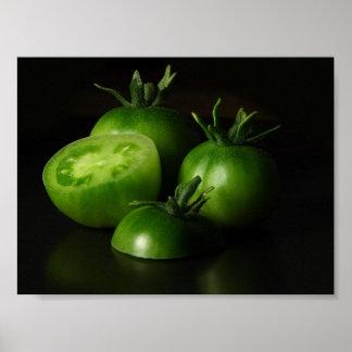 De los tomates todavía del verde vida póster