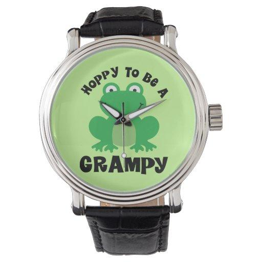 De lúpulo para ser un regalo de Grampy Reloj De Mano