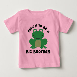 De lúpulo para ser un regalo de hermano mayor playera para bebé
