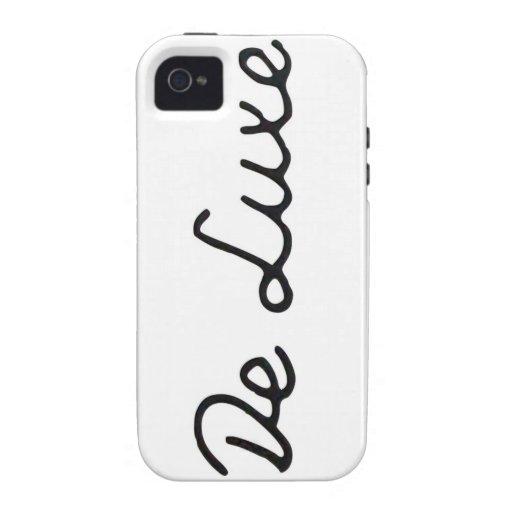 De luxe iPhone Case iPhone 4 Covers