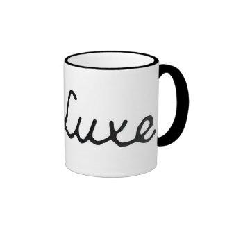 De Luxe Ringer Coffee Mug
