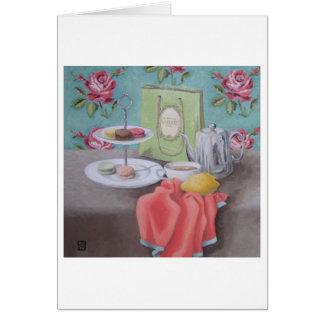 De Macarons avec Matisse Art Card