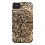 De madera iPhone 4 protectores