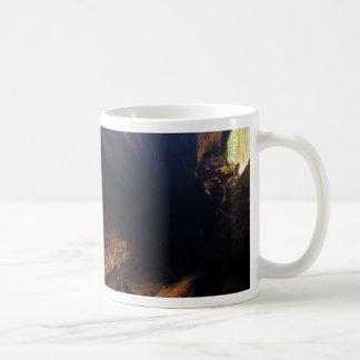 De madera tazas de café
