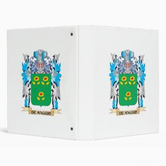 De-Maggio Coat of Arms - Family Crest 3 Ring Binder