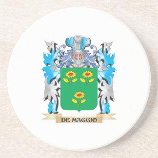 De-Maggio Coat of Arms - Family Crest Drink Coasters