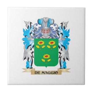 De-Maggio Coat of Arms - Family Crest Ceramic Tile