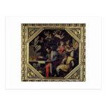 De Medici (1519-74) de Cosimo I que planea los con Tarjetas Postales