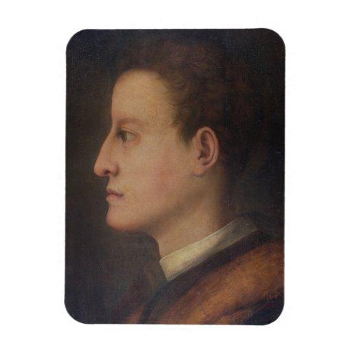 De Medici de Cosimo I (1519-74) como hombre joven, Iman De Vinilo