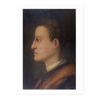 De Medici de Cosimo I 1519-74 como hombre joven Tarjetas Postales